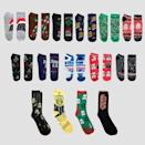 "<p><strong>Star Wars</strong></p><p>target.com</p><p><strong>$15.00</strong></p><p><a href=""https://www.target.com/p/men-39-s-star-wars-15-days-of-socks-advent-calendar-assorted-colors-one-size/-/A-79760915"" rel=""nofollow noopener"" target=""_blank"" data-ylk=""slk:Shop Now"" class=""link rapid-noclick-resp"">Shop Now</a></p><p>Keep those feet warm with some festive Star Wars holiday socks! These are sized for men, but you can also get <em>Mandalorian</em> socks-in-a-box <a href=""https://www.target.com/p/women-39-s-star-wars-the-mandalorian-15-days-of-socks-advent-calendar-assorted-colors-4-10/-/A-79767464"" rel=""nofollow noopener"" target=""_blank"" data-ylk=""slk:in women's"" class=""link rapid-noclick-resp"">in women's</a> and <a href=""https://www.target.com/p/boys-star-wars-the-mandalorian-15-days-of-socks-advent-calendar/-/A-80874043"" rel=""nofollow noopener"" target=""_blank"" data-ylk=""slk:kids' sizes"" class=""link rapid-noclick-resp"">kids' sizes</a>.</p>"