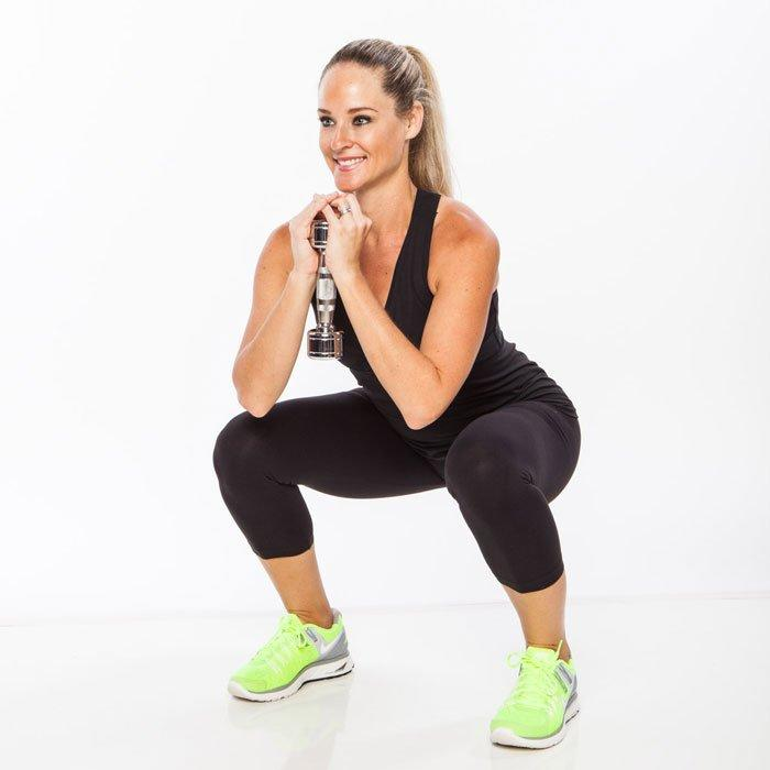 "<p>An effective full-body circuit workout doesn't need to include a slew of different exercises. In fact, many of the most valuable training sessions are also the simplest (just like these <a href=""https://www.shape.com/fitness/workouts/10-best-exercises-women"" target=""_blank"">10 best exercises for women</a>). It makes sense if you think about it: Instead of learning new moves or collecting equipment, you can focus on the details that matters most while performing this full-body circuit workout, like <a href=""https://www.shape.com/fitness/tips/learn-proper-form-squat-therapy"" target=""_blank"">proper form</a> and intensity.</p> <p>This four-round circuit uses only four signature moves (squats, lunges, pushups, and rows) that get progressively more challenging with each round. Complete the full-body circuit workout to kick your booty into high gear at home or at the gym. (Then try this <a href=""https://www.shape.com/fitness/workouts/30-minute-no-equipment-circuit-workout"" target=""_blank"">30-minute, no-equipment circuit</a> tomorrow to mix things up!)</p> <p><strong>How it works:</strong> Do 1 set of every exercise in order, with little to no rest between moves. If needed, rest 30 to 60 seconds between circuits.</p> <p><strong>You'll need:</strong> A set of 5- to 25-pound dumbbells (Choose a <a href=""https://www.shape.com/fitness/tips/when-use-heavy-weights-vs-light-weights"" target=""_blank"">weight heavy enough</a> to make it difficult to complete the last rep with proper form).</p>"