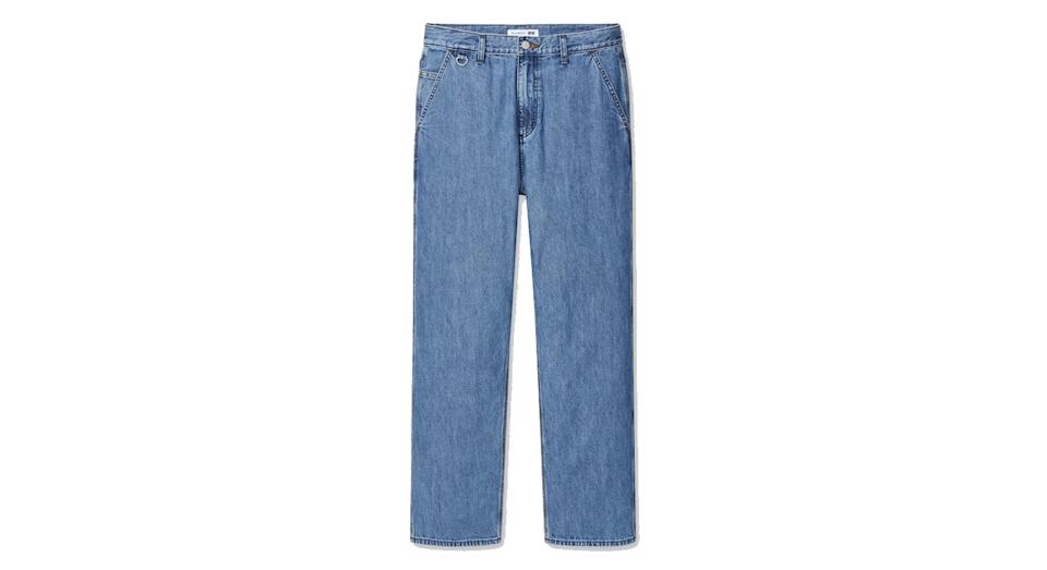 JW ANDERSON WIDE FIT STRAIGHT LEG JEANS