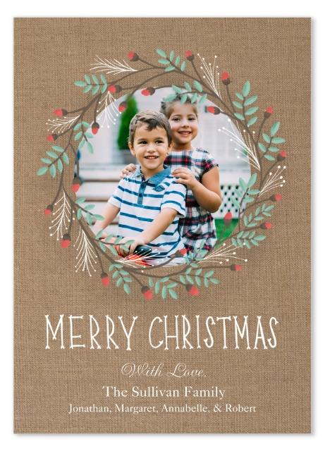 Snapfish allows you to easily create and order holiday cards online.