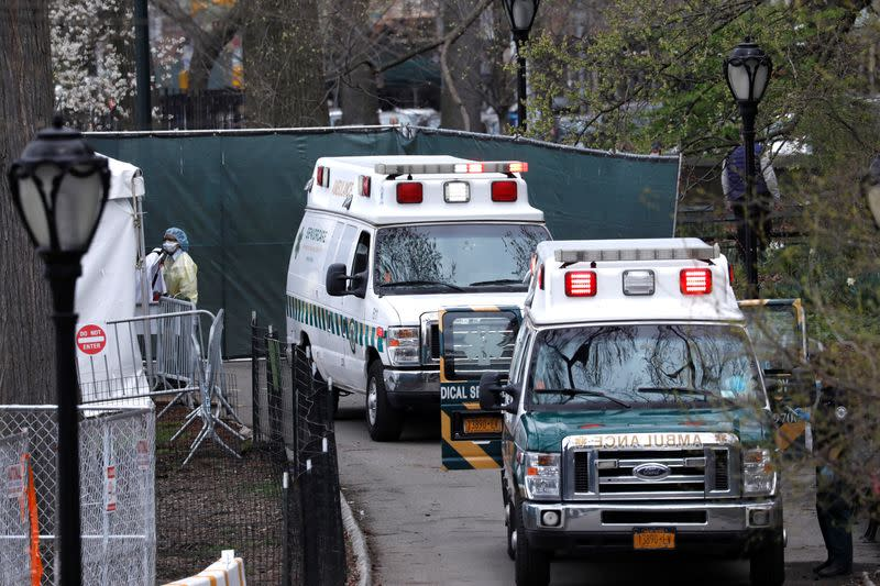 New York hospital sends some 'borderline' COVID-19 patients home with oxygen monitors