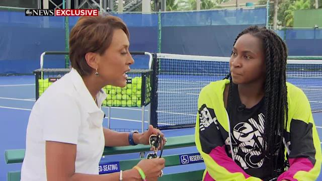 """""""Nightline"""" sat down with the teenage tennis sensation who beat Venus Williams at Wimbledon and will be playing as a wildcard at the U.S. Open to learn about how she got so good."""