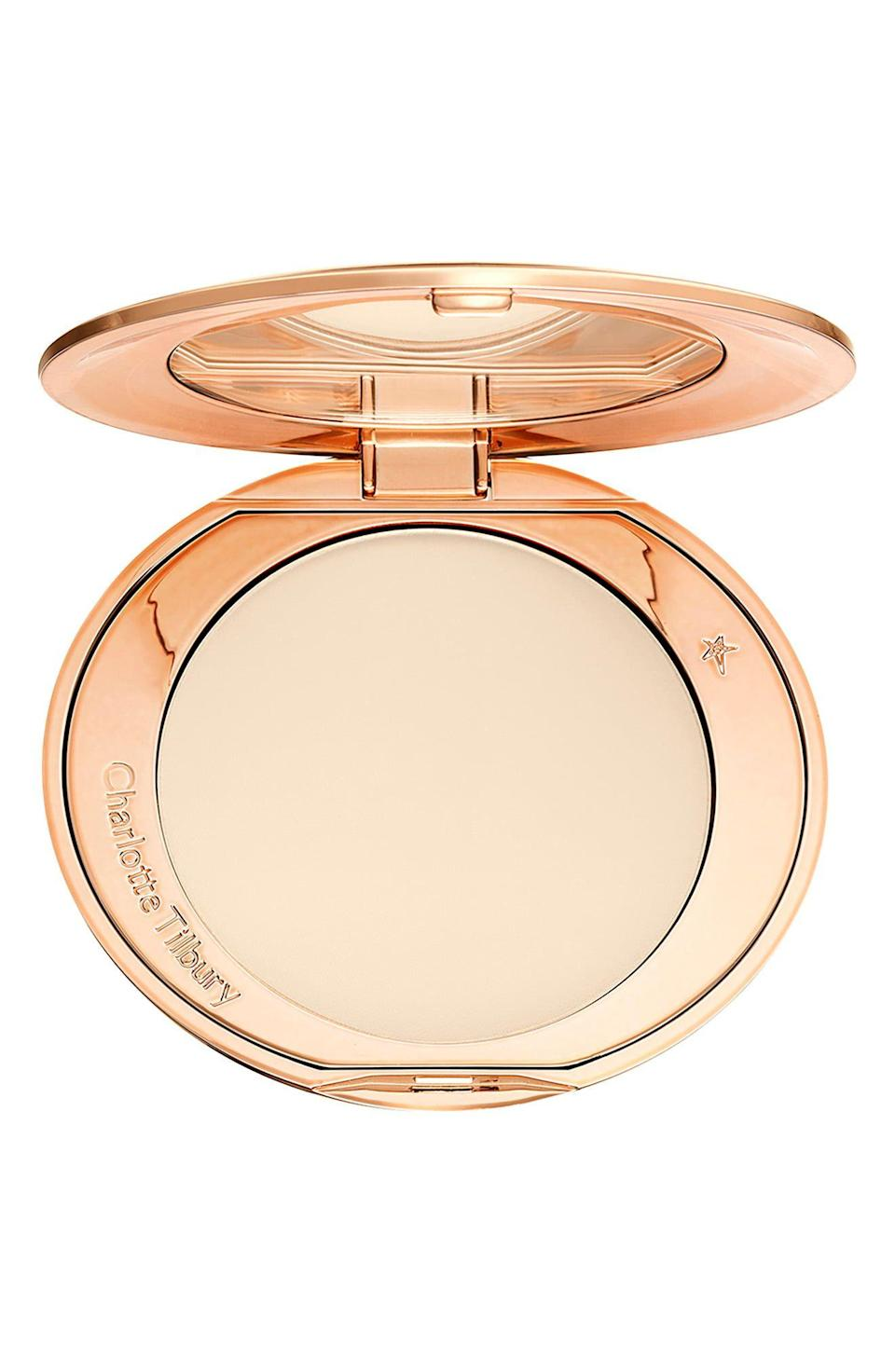 "<p><strong>CHARLOTTE TILBURY</strong></p><p>nordstrom.com</p><p><strong>$45.00</strong></p><p><a href=""https://go.redirectingat.com?id=74968X1596630&url=https%3A%2F%2Fwww.nordstrom.com%2Fs%2Fcharlotte-tilbury-airbrush-flawless-finish-setting-powder%2F3849022&sref=https%3A%2F%2Fwww.goodhousekeeping.com%2Fbeauty-products%2Fg35745893%2Fbest-face-powders%2F"" rel=""nofollow noopener"" target=""_blank"" data-ylk=""slk:Shop Now"" class=""link rapid-noclick-resp"">Shop Now</a></p><p>For skin that looks airbrushed and radiant, look no further than this setting powder. ""Of all the powders I have tried (and it has been nearly dozens now), this is the one,"" raves one reviewer. ""<strong>This powder will make your wrinkles and pores vanish, and will make your skin look smoother and softer than it ever has before.</strong>"" </p>"