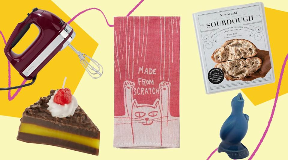 Quirky baking gift ideas for the baker who has everything. (Photo: HuffPost)