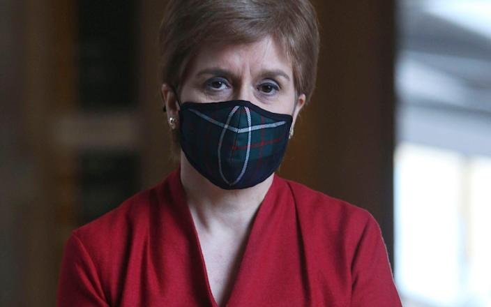 Nicola Sturgeon has backtracked over her lockdown exit plan - Getty Images Europe