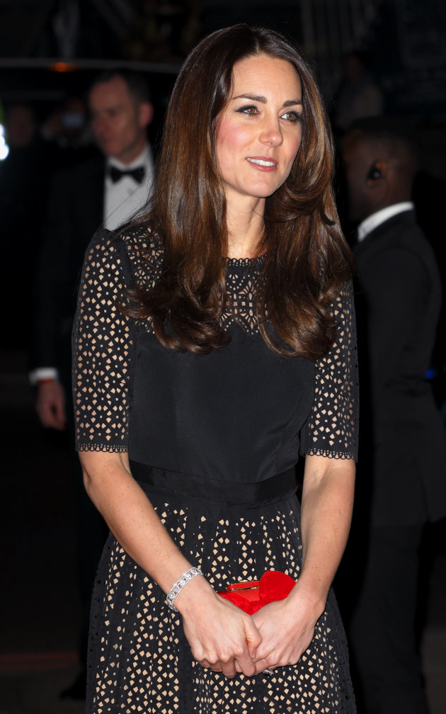 Kate Middleton new hair cut and color
