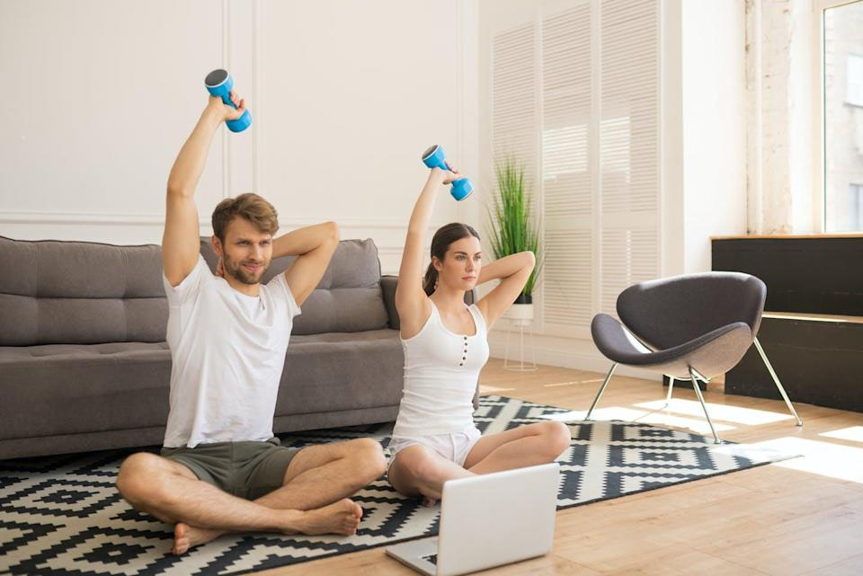 """<span class=""""caption"""">World Day for Physical Activity is April 6. Since the COVID-19 pandemic began, many peoples' physical exercise routines have been disrupted.</span> <span class=""""attribution""""><span class=""""source"""">(Shutterstock)</span></span>"""