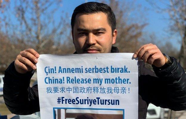 Jevlan Shirmemmet has publicly protested for the release of his mother