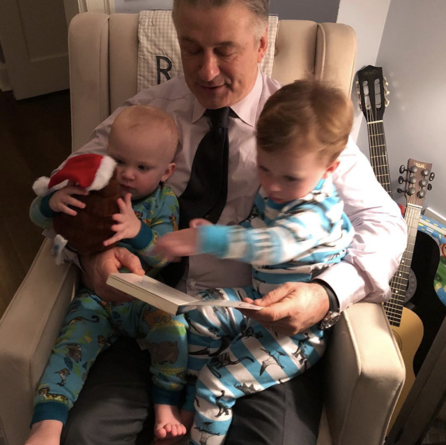 "<p>""Talk shows, game shows, movies, sitcoms. They only pay the bills.This is it. Right here,"" the multitasking dad wrote, as he sweetly took the time to read to two of his growing brood. ""Thank you @hilariabaldwin for all you've given me.""(Photo: <a href=""https://www.instagram.com/p/BfuKuboDY4R/?taken-by=iamabfalecbaldwin"" rel=""nofollow noopener"" target=""_blank"" data-ylk=""slk:Alec Baldwin via Instagram"" class=""link rapid-noclick-resp"">Alec Baldwin via Instagram</a>) </p>"