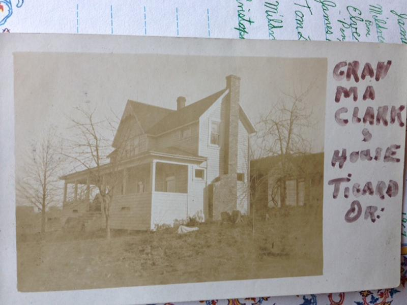 In this image provided by the Department of Justice National Missing and Unidentified Persons System database shows a historical photo of Marvin Clark's home in Tigard, Oregon. Clark is the oldest missing persons case in the National Missing and Unidentified Persons System (NamUs) database. He was reported missing in November, 1926. NamUs is looking into the possibility that remains found in 1986 near US 30 may be those of Marvin Clark. (AP Photo/Department of Justice National Missing and Unidentified Persons System)