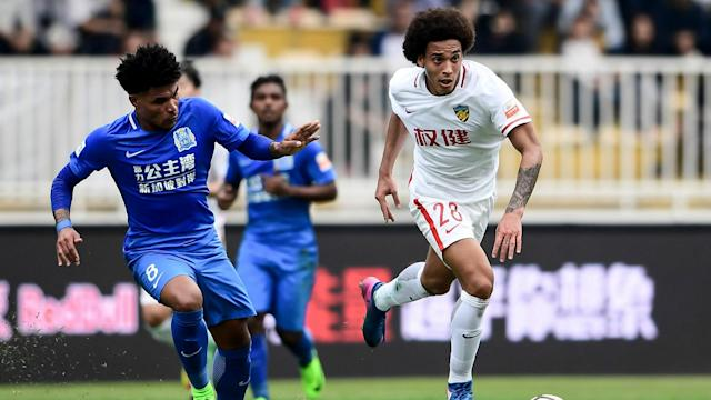 Qin Sheng deliberately stepped on the Belgium international's foot during a game against Tianjin Quanjian and has now been suspended for half a year