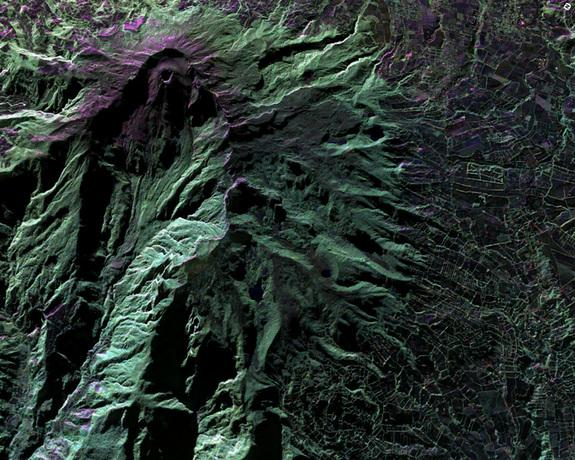 Radar Plane Scans Volcanoes, Archaeological Sites