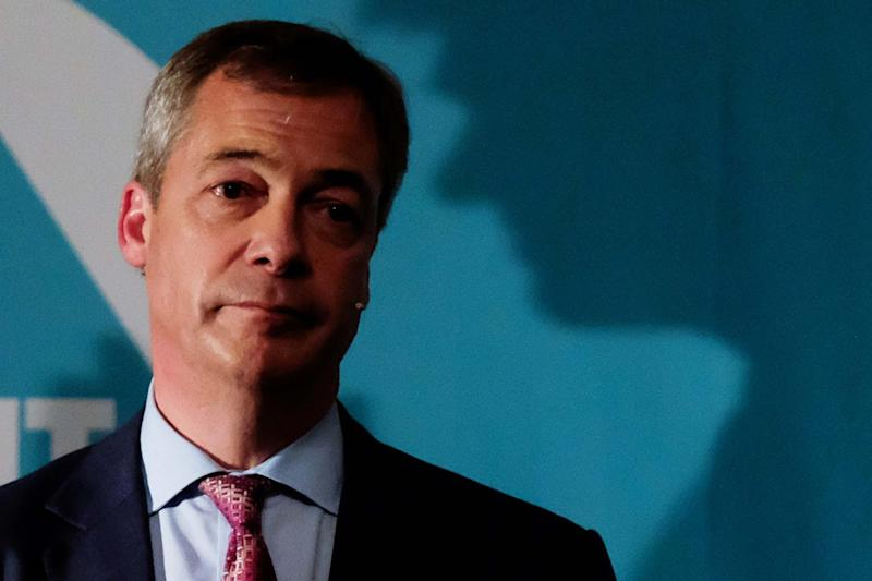 Brexit Party leader Nigel Farage: Getty Images