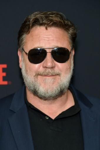 """Australian actor Russell Crowe did not attend the Golden Globes but sent a message to be read upon his win for """"The Loudest Voice"""" about the wildfires in his home country"""
