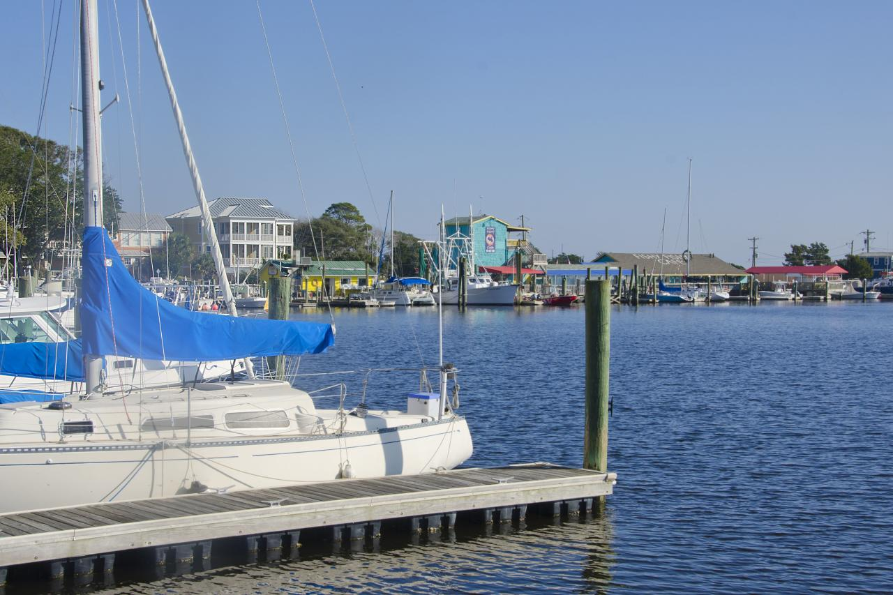 "<p>There's a reason this tiny harbor town at the outlet of the Cape Fear River was voted <a href=""https://www.coastalliving.com/travel/top-10/2015-americas-happiest-seaside-towns?slide=160602#160602"" target=""_blank"">America's Happiest Seaside Town in 2015</a>. Bright white cottages with red roofs, stately sea captains' homes, two lighthouses, and water in seemingly every direction (what with the confluence of the river and the Intracoastal Waterway) create vistas at every bend in the road. It's a vintage postcard sent from a halcyon past.</p>"