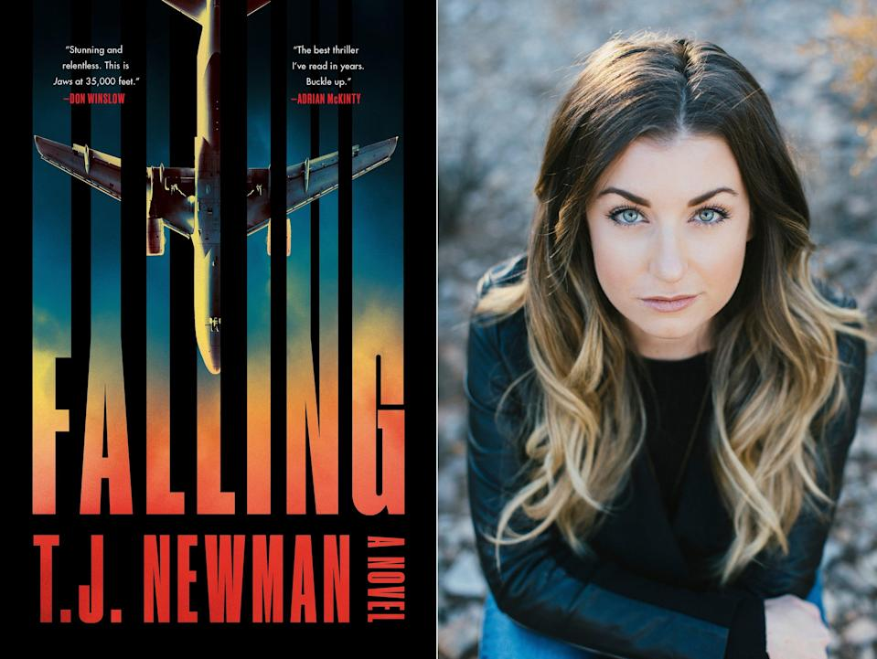 """""""Falling"""" is a novel by T.J. Newman, a former bookseller and flight attendant who conjured fictional nightmares during breaks on cross country red-eyes."""
