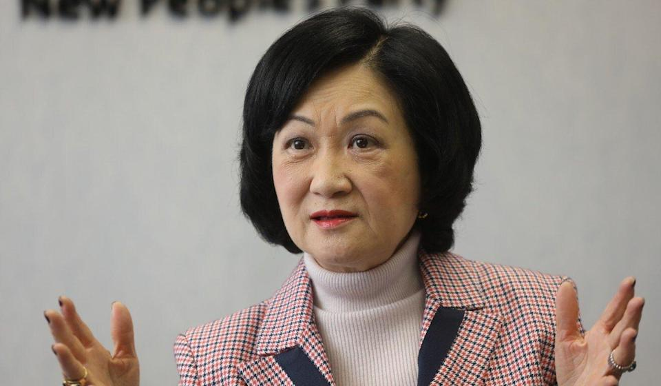 Lawmaker Regina Ip accused Apple Daily's owners of inciting 'disaffection and hatred'. Photo: K.Y. Cheng