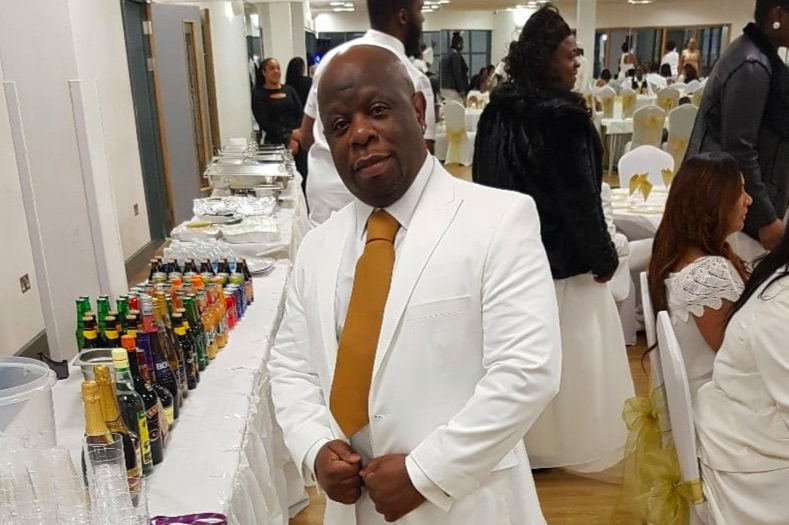 Thomas Harvey worked for 20 years at Goodmayes Hospital in east London. (GoFundMe)