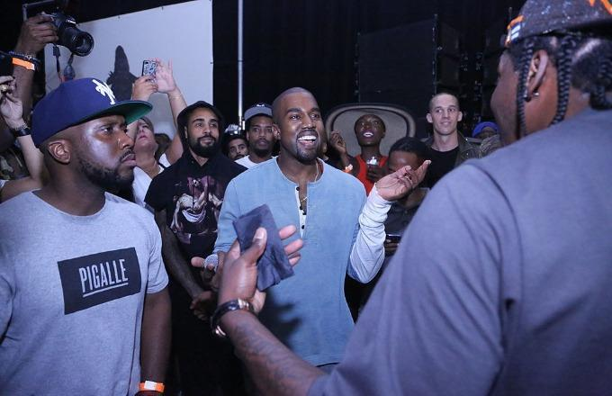 Kanye West Mentions J  Cole in Previously Unheard
