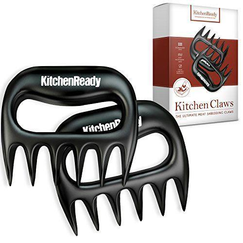 """<p><strong>KitchenReady</strong></p><p>amazon.com</p><p><strong>$12.97</strong></p><p><a href=""""https://www.amazon.com/dp/B00L49SKIU?tag=syn-yahoo-20&ascsubtag=%5Bartid%7C10063.g.33767347%5Bsrc%7Cyahoo-us"""" rel=""""nofollow noopener"""" target=""""_blank"""" data-ylk=""""slk:Shop Now"""" class=""""link rapid-noclick-resp"""">Shop Now</a></p><p>These meat claws from KitchenReady are perfect for shredding pulled pork, beef brisket and chicken. Let your inner animal out and go ham on those meats. </p>"""