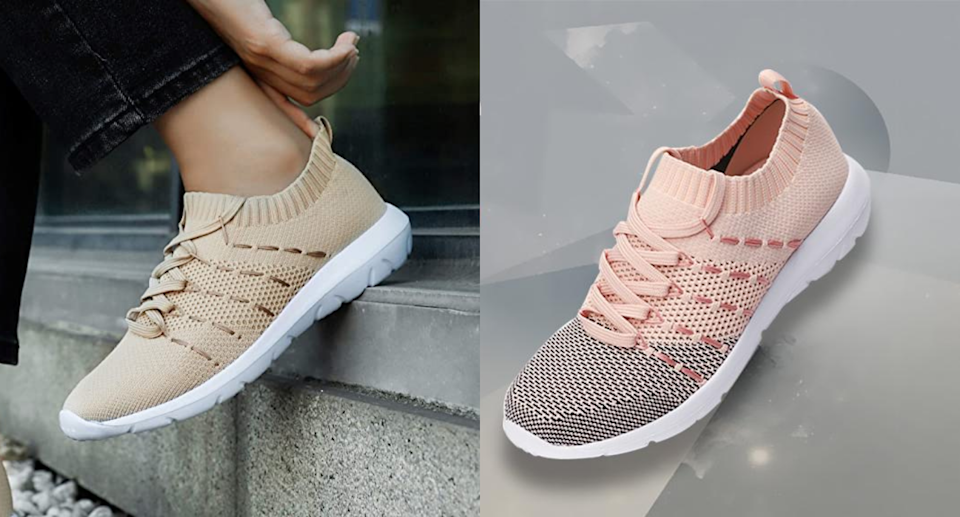 PromArder Women's Walking Shoes are one of Amazon's top Movers and Shakers. Image via Amazon.
