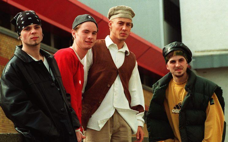 Brian found fame with East 17. Copyright: [Rex]