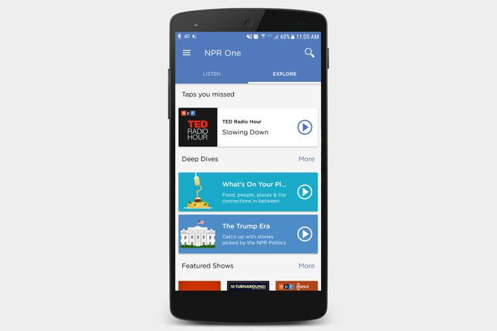 best radio apps ios android npr one