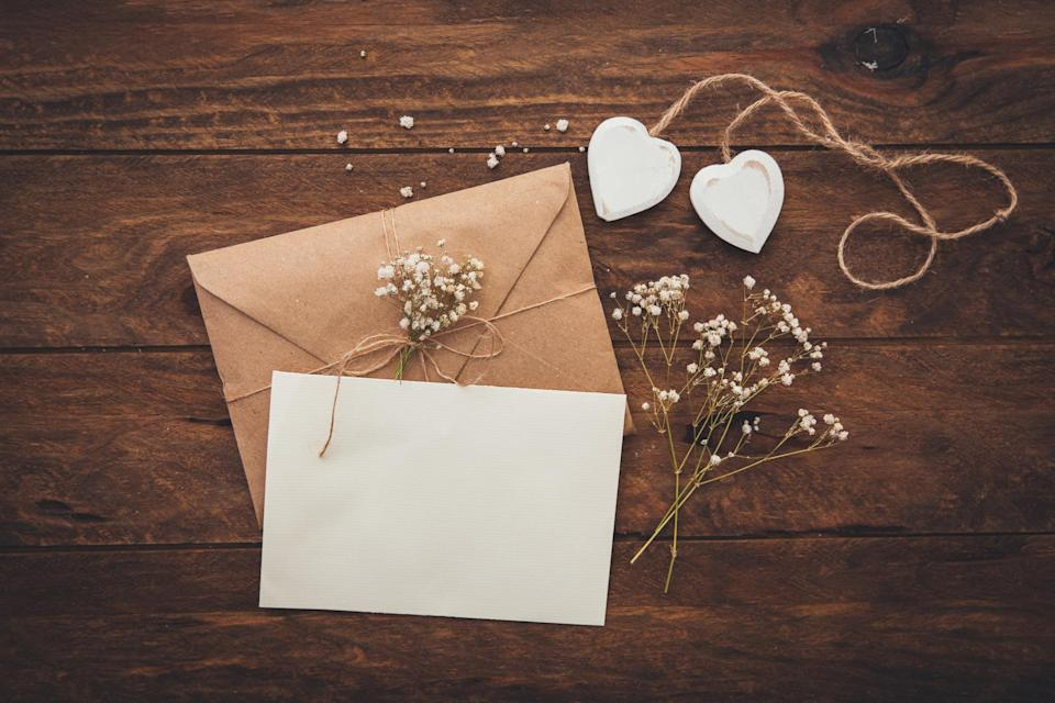 A bride has caused a stir online for her unusual save the date requests [Photo: Getty]