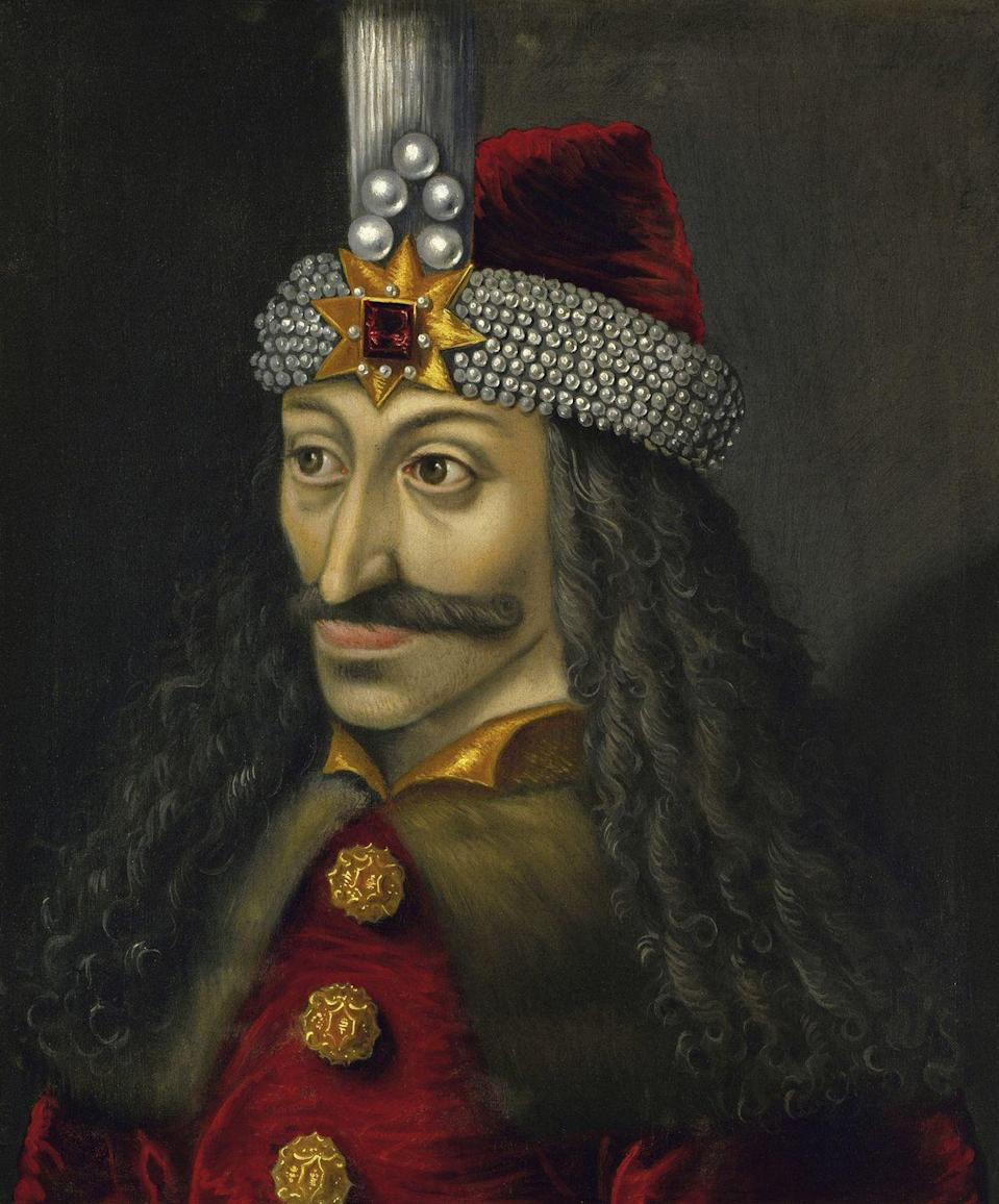 "<p><strong>Origin:</strong> Eastern European</p><p>The world's most famous vampire is undoubtedly Bram Stoker's Dracula, who Stoker reportedly modeled after Romanian Prince Vlad Tepes, more popularly known as Vlad the Impaler, pictured.</p><p>While most people can name a few vampiric characteristics, there are actually no set parameters for what a vampire can and can't do because there are ""no firmly established characteristics,"" according to <em><a href=""https://www.livescience.com/24374-vampires-real-history.html"" rel=""nofollow noopener"" target=""_blank"" data-ylk=""slk:Live Science"" class=""link rapid-noclick-resp"">Live Science</a>.</em></p><p>The vampires we're familiar with today are the ones that tend be glamorous—they're rich and good looking, but still have to suck blood to survive.</p>"