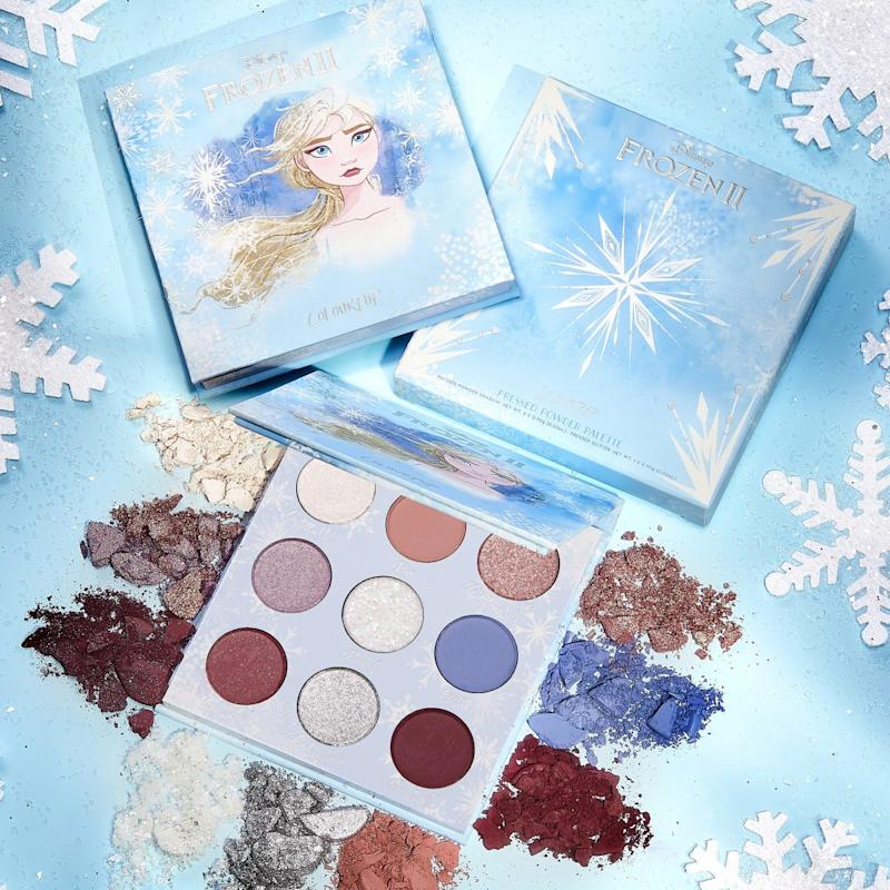 The entire Frozen 2 makeup collection will be sold online. (PHOTO: Colourpop)