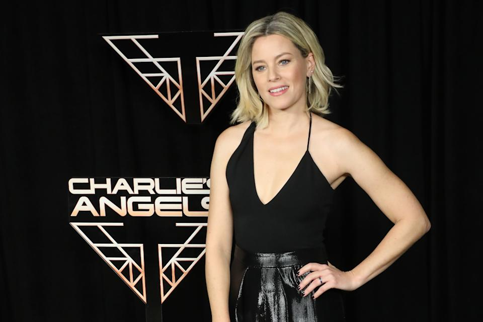 """NEW YORK, NEW YORK - NOVEMBER 07: Elizabeth Banks attends a photocall for """"Charlie's Angels"""" at the Whitby Hotel on November 07, 2019 in New York City. (Photo by Taylor Hill/WireImage)"""