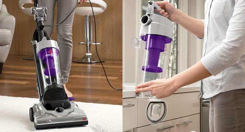 Bissell AeroSwift Turbo Vacuum is a top-rated find from Amazon for $100  (Images via Amazon)