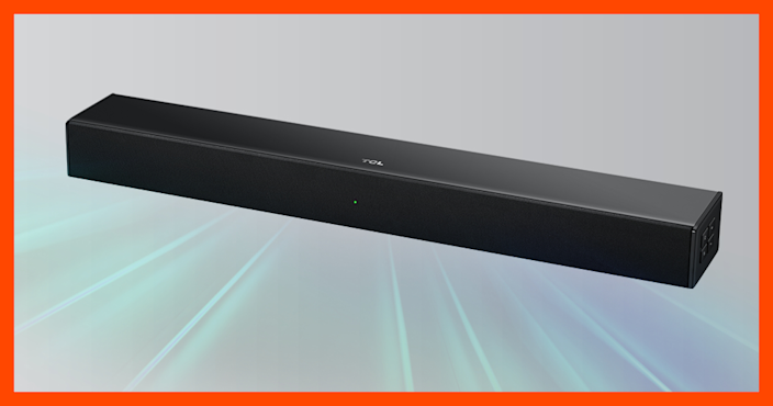 Listen up. This soundbar is on sale for only $49! (Photo: Amazon)