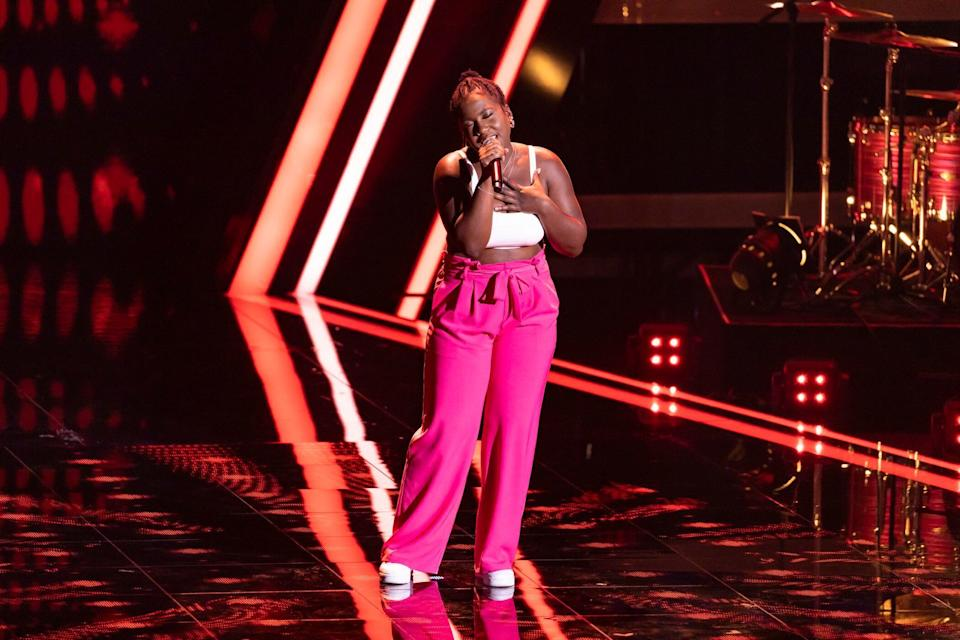 Esther Nkongo, The Voice of Germany 2020