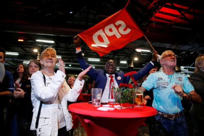 Reaction of parties after regional elections for the Berlin Senat