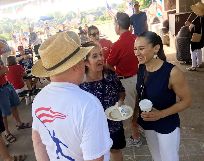 Sharice Davids defeated a Bernie Sanders-backed candidate in Tuesday's Democratic primary.