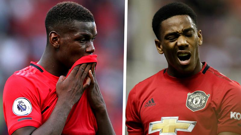 Pogba & Martial missing for Man Utd as Solskjaer is handed selection headache