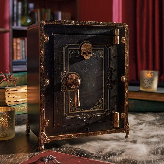 <p>Protect potions and spells with this <span>Deluxe Animated Safe</span> ($200).</p>
