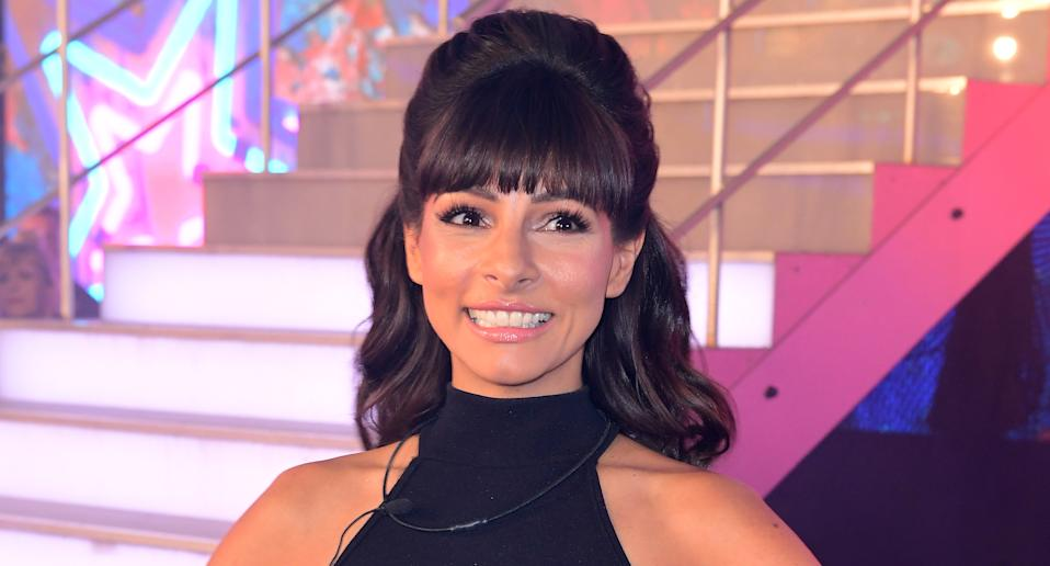 Roxanne Pallett is pregnant with her first child. (Photo by Ian West/PA Images via Getty Images)
