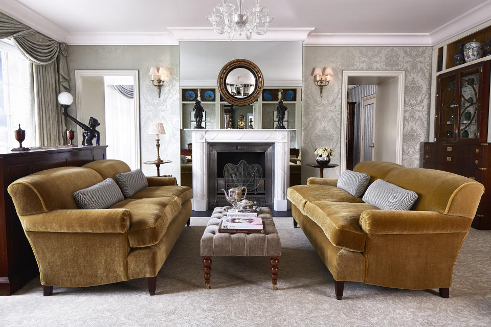 The Royal Suite, where Kate spent her last night as an unmarried woman. (Goring Hotel)