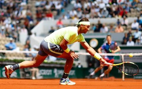 Nadal has dropped just one set en route to Sunday's showpiece - Credit: Reuters