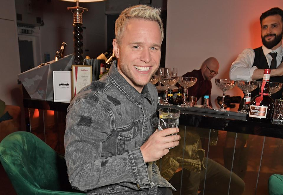 LONDON, ENGLAND - MARCH 04:  Olly Murs attends the launch of Berkley London, a bespoke luxury chauffeur & concierge founded by John Newman, at The Yard, Shoreditch, on  March 4, 2020 in London, England.  (Photo by David M. Benett/Dave Benett/Getty Images for Berkley London)