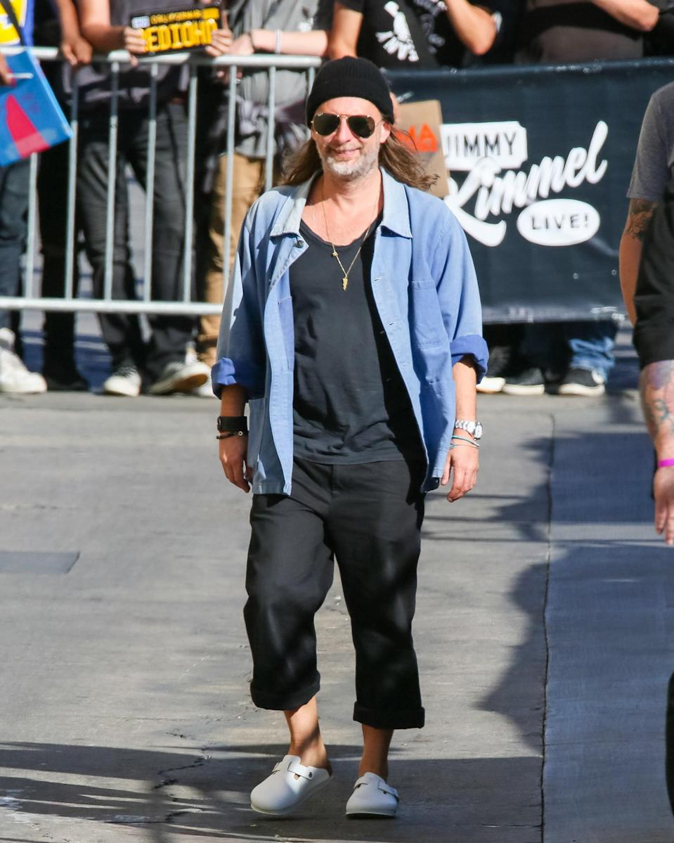"""<h1 class=""""title"""">October 16: Thom Yorke</h1> <div class=""""caption""""> Everything in Thom Yorke's #BigFitoftheDay is in its right place. </div> <cite class=""""credit"""">Getty Images</cite>"""