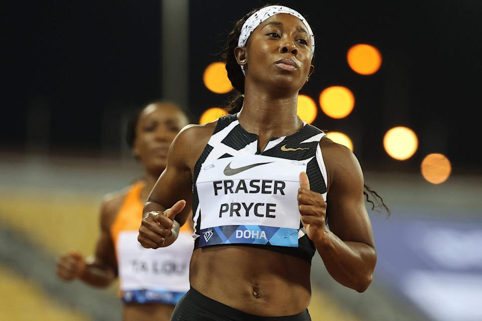 Jamaica's Shelly-Ann Fraser-Pryce has won two Olympic gold medals and nine world championships.