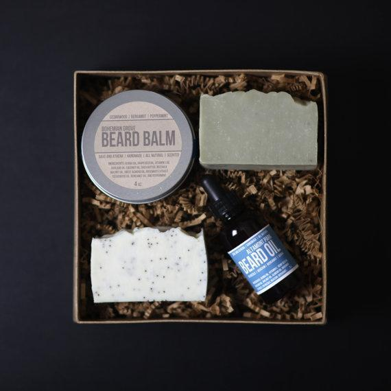 "<p>Know a dad who loves to keep his facial hair on point? He'll love this beard care kit from Dave and Athena. <i>($48<a href=""https://www.etsy.com/ca/listing/259479350/beard-care-gift-set-beard-grooming-kit?ref=shop_home_feat_3"" rel=""nofollow noopener"" target=""_blank"" data-ylk=""slk:via Etsy"" class=""link rapid-noclick-resp""> via Etsy</a>)</i></p>"