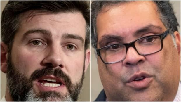 Both Edmonton mayor Don Iveson, left, and Calgary's Naheed Nenshi, operate under a system in which mayors hold no more power than any other member of council. Najib Jutt suggests it might be time to look at changing that.