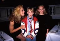 (L-R) Actors Brooke Shields, Macaulay Culkin and Laura Bundy. (Photo by Time Life Pictures/DMI/The LIFE Picture Collection via Getty Images)