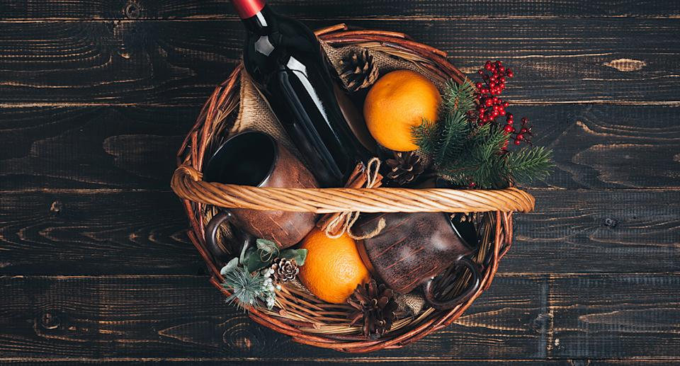 Aldi's luxury Christmas hampers are here, with prices starting at just £19.99. (Getty Images)