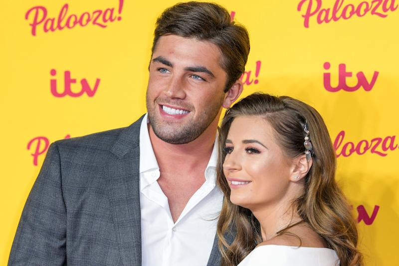Jack Fincham and Dani Dyer attend ITV Palooza!, Royal Festival Hall, Southbank, London.