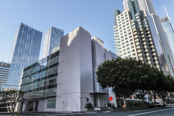 The offices of the State Bar of California in downtown Los Angeles.